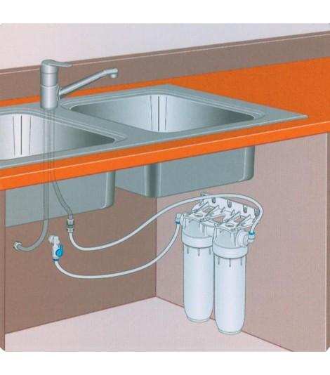 Εγκατάσταση απευθείας στην παροχή κρύου νερού.